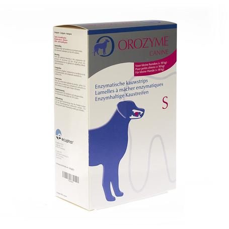 Orozyme canine s lamelle enzym.chien <10kg 224g
