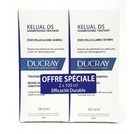 Ducray Kelual DS Shampooing traitant 2x100ml promo duo