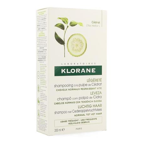 Klorane Shampoo Cederappelvruchtvlees 200ml