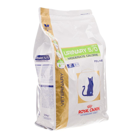 Vdiet Urinary S/O Moderate calorie chat 1,5kg
