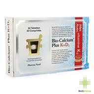 Bio-calcium plus k+d3 comp 60