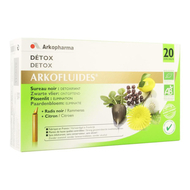 Arkofluide Detox bio unicadoses 20st