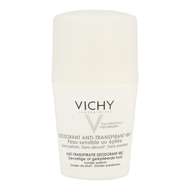 Vichy Anti-Transpiratie Deodorant Gevoelige Huid Roller 48u 50ml