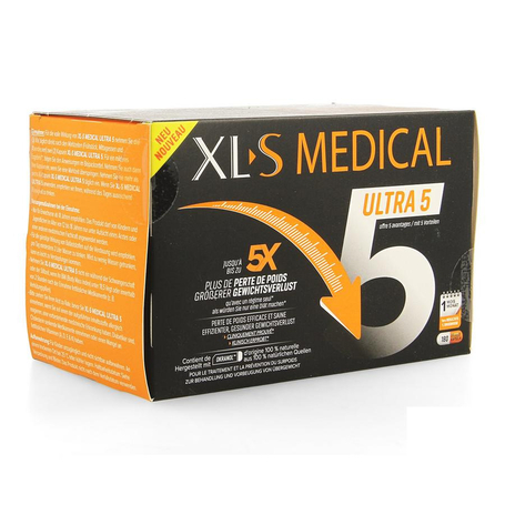 XLS Medical Ultra 5 Gewichtsverlies capsules 180st