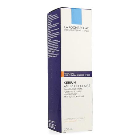 La Roche Posay Kerium Shampooing Crème Antipelliculaire 1pc