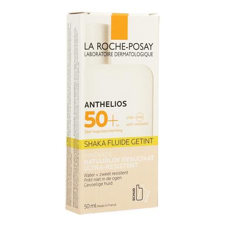 La Roche Posay Anthelios Shaka Fluide SPF50+ getint met parfum 50ml