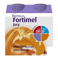 Fortimel Jucy sinaasappelsmaak 4x200ml