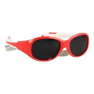 Eureka care lunette soleil enf. rouge-blanc 12-24m