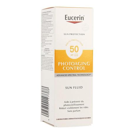 Eucerin Sun fluide anti-âge SPF50+ 50ml