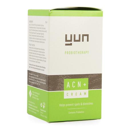 Yun ACN+ crème contre acné peaux sèches 50ml