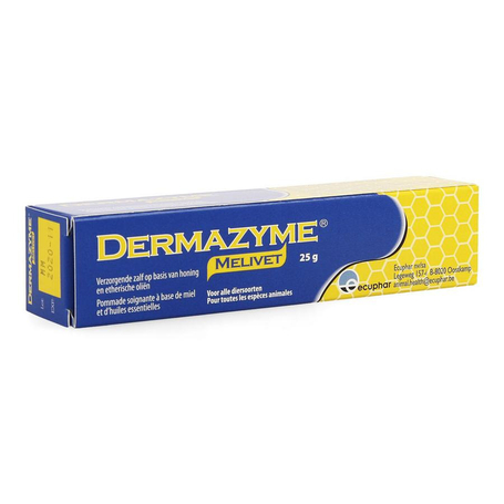Dermazyme melivet pommade tube 25g