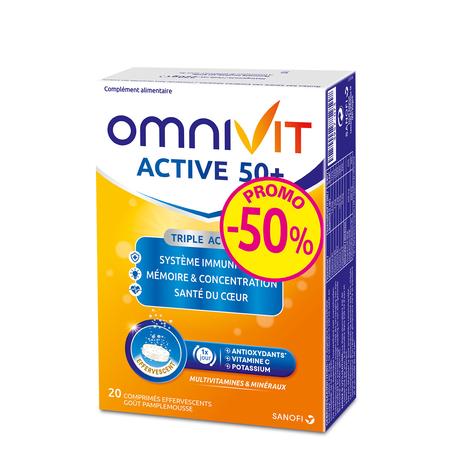 Omnivit active 50+ tablettes