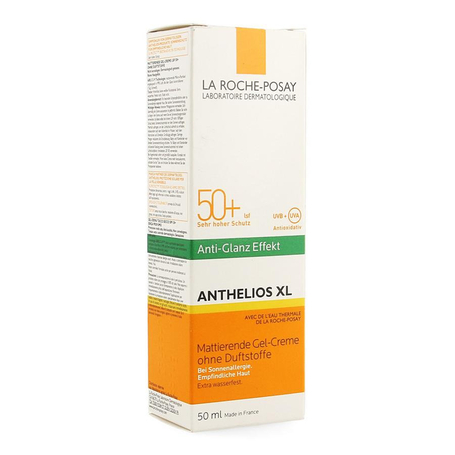 La Roche Posay Anthelios XL SPF50+ gel-crème dry touch zonder parfum 50ml