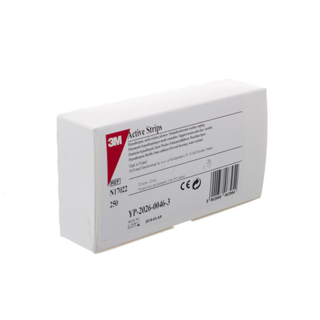 Nexcare 3m active strips 23mm dots 250 17022