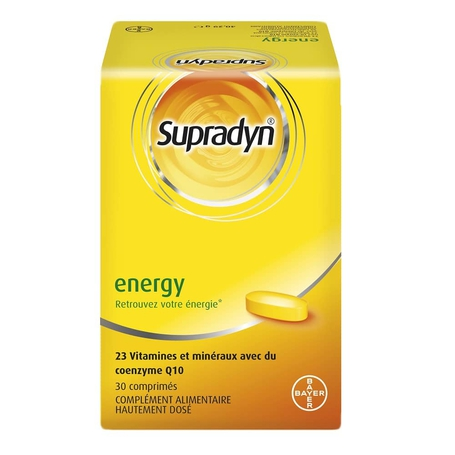 Supradyn energy Multivitaminen en mineralen filmomhulde tabletten 30st