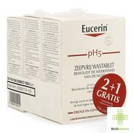 Eucerin pH5 pain dermatologique sans savon 2+1 gratuit