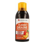 Fortepharma Turbodraine Thé Vert Pèche  500ml