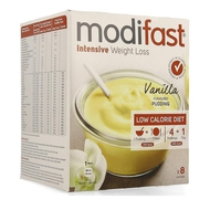 Modifast Intensive Pudding vanille 8x55g