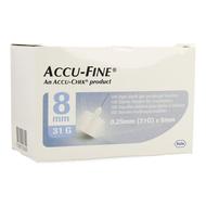 Accu fine 31g 8mm 100