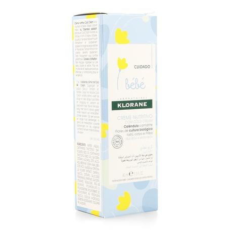 Klorane bb cr nutritive cold cream tube 40ml