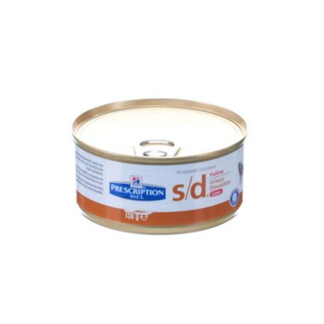 Hills prescrip.diet feline sd 156g 4450fe