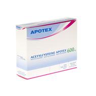 Acetylcysteine apotex sach 14 x 600mg