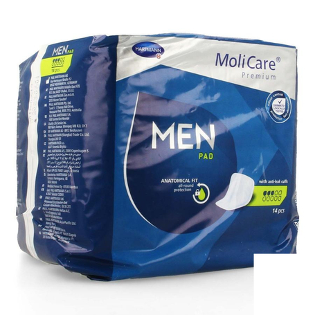 Hartmann MoliCare Premium Men pad 3 drops 14pc