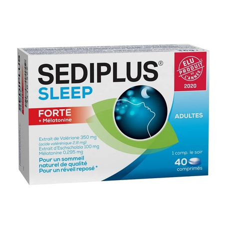 Sediplus Sleep forte tabletten 40st