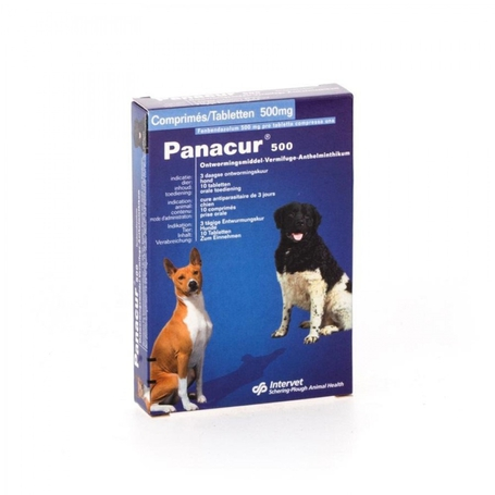 Panacur 500mg tablettes 10pc