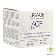 Age Protect Crème Nuit Peeling Multi-actions