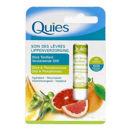 Quies lippenstift versterk. olijf&pompelmoes