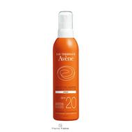 Avene Spray solaire SPF20  200ml