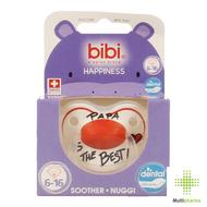 Bibi Fopspeen Happiness Papa Is The Best 6-16 maanden 1st