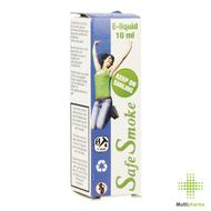 Safe smoke e-liquid 3mg/ml nicotine red fruit 10ml