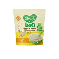 Olvarit Céréales blé et avoine bio 6+ mois 180gr