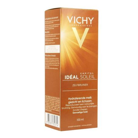 Vichy Idéal Soleil Zelfbruiner hydraterende melk gezicht en lichaam 100ml