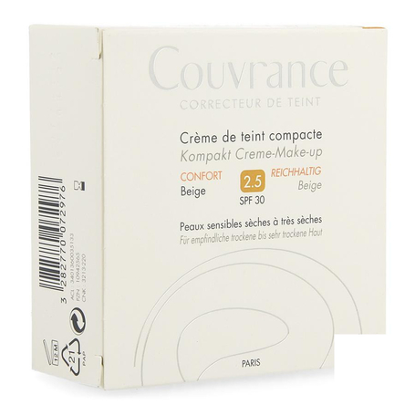 Avene Couvrance Crème De Teint Compacte Confort Beige  10gr