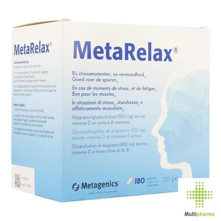 Metagenics Metarelax tabl 180st
