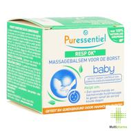 Puressentiel Respiratoire  Massagebalsem  voor de borst Baby    30ml