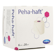 Peha-haft latexfree 6cmx20m 1 p/s