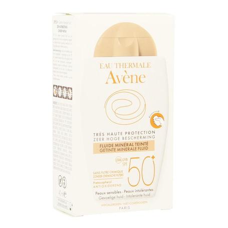 Avene Getinte Minerale Fluid SPF50+ 40ml