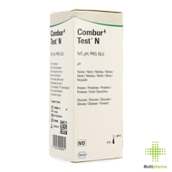 Combur 4 test n strips 50 11896822252
