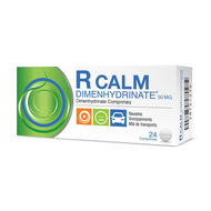 R calm dimenhydrinate comprimés 24pc