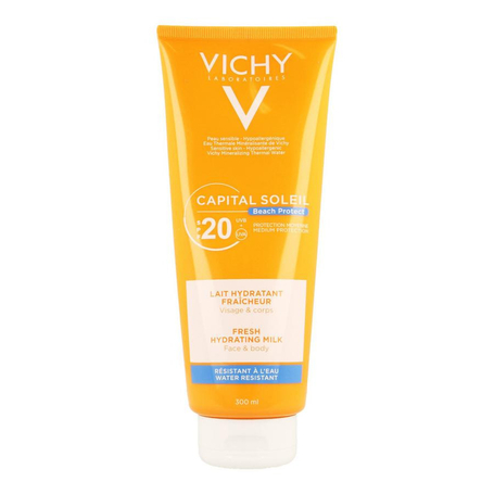 Vichy Capital Soleil Beach Hydraterende zonnemelk SPF20 300ml