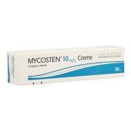 Mycosten 10mg/g crème 30g