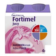 Fortimel Jucy aardbeiensmaak 4x200ml