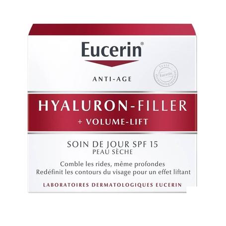 Eucerin Hyaluron Filler + Volume Lift crème de jour pour peau sèche 50ml