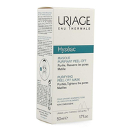Uriage Hyseac Masker zuiverend peel-off 50ml