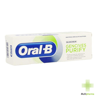 Oral b dentifrice purify blancheur 75ml