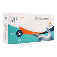 Sensicare onderzoekhandsch. stretchvinyl s 100